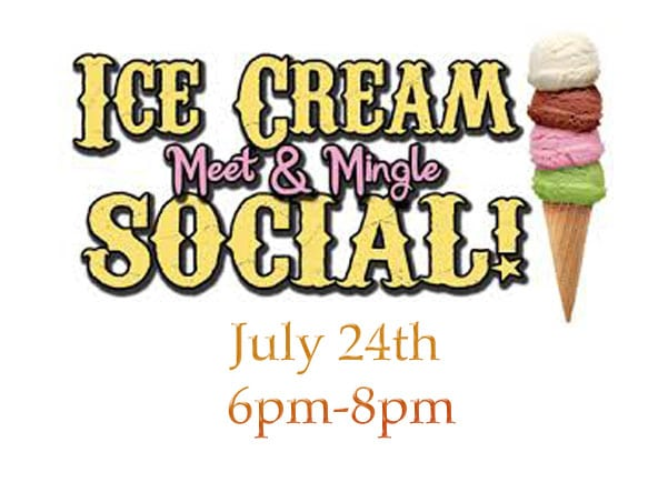 Old Fashion Ice Cream Social Summer Meet & Mingle