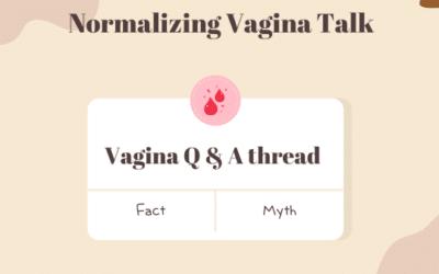 """""""Common Vaginal Myths"""""""